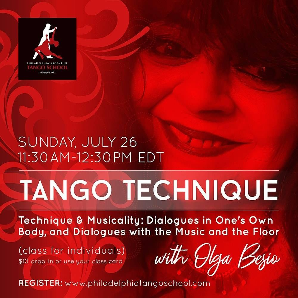 Tango on-line